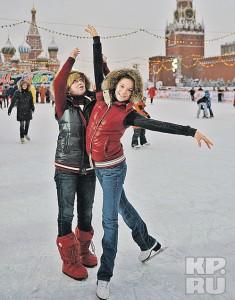 Елена Буянова и Аделина Сотникова
