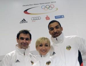 Инго Штойер, Алена Савченко и Робин Шолковы