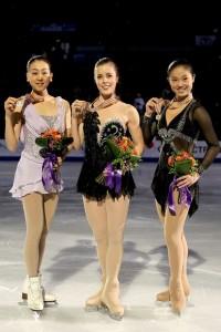 Медалистки Чемпионата четырех континентов