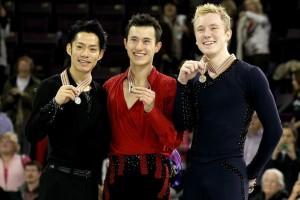 Медалисты Чемпионата четырех континентов