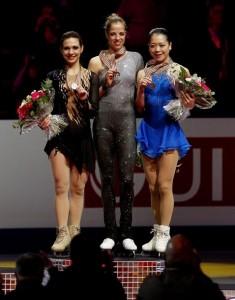 Медалистки чемпионата мира 2012