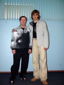 Леонид Райцин и Александр Успенский