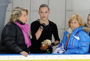 Татьяна Тарасова, Аделина Сотникова и Елена Буянова
