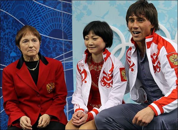 Тамара Москвина, Юко Кавагути и Александр Смирнов
