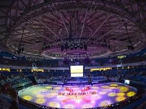 "Ледовый дворец ""Айсберг"" в Сочи"