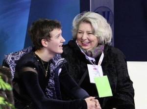 Максим Ковтун и Татьяна Тарасова