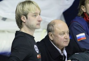 Евгений Плющенко и Алексей Мишин