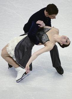 Тесса Вирту и Скотт Мойр