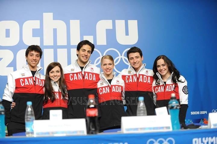 Канадские фигуристы