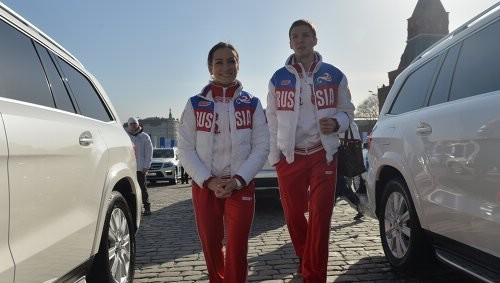 Ксения Столбова и Дмитрий Соловьев