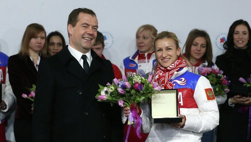 Дмитрий Медведев и Татьяна Волосожар