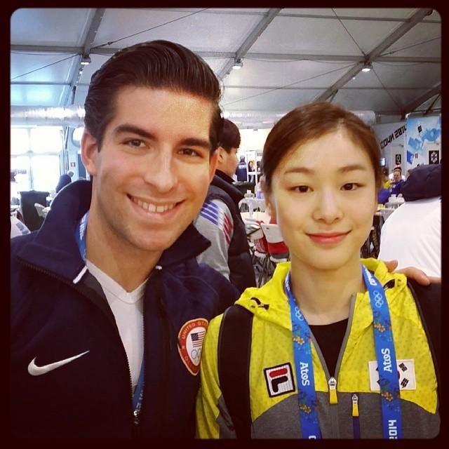 Юна Ким и Натан Бартоломей