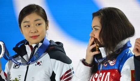 Ким Юна и Аделина Сотникова