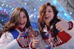 Елена Ильиных и Аделина Сотникова