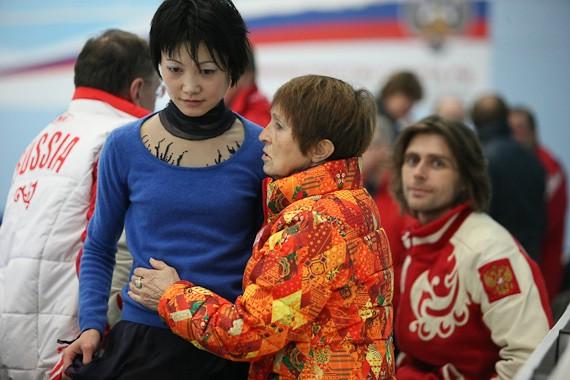 Тамара Москвина и Юко Кавагути