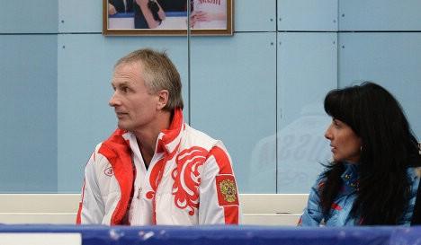 Александр Свинин и Ирина Жук