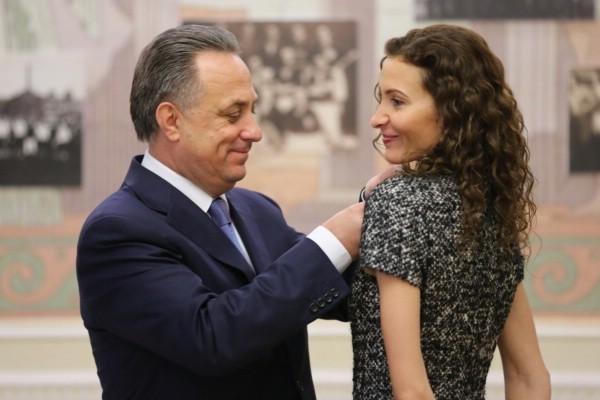 Виталий Мутко и Этери Тутберидзе