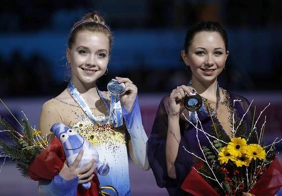Елена Радионова и Елизавета Туктамышева