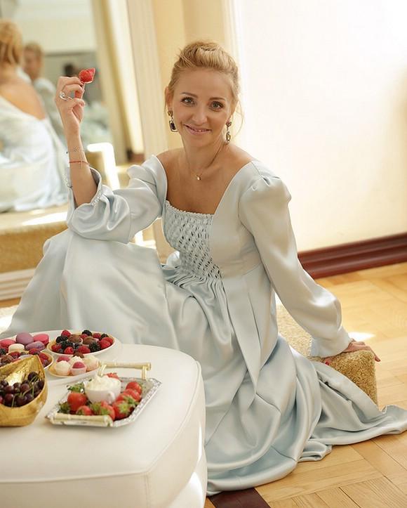 Татьяна Навка свадебное платье