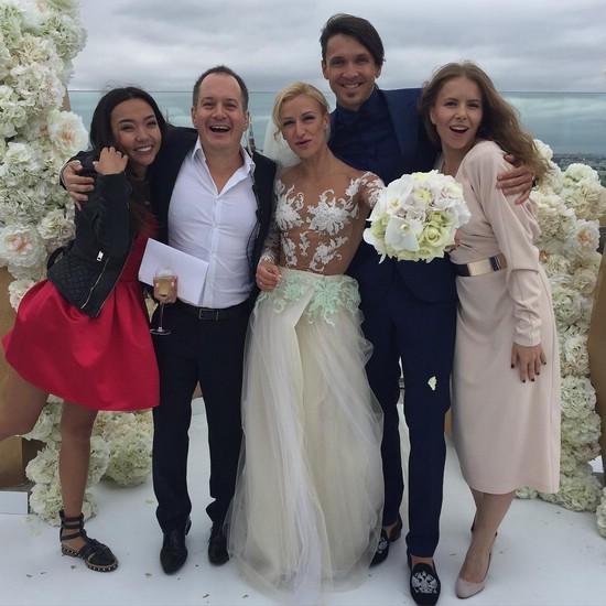 Свадьба Татьяны Волосожар и Максима Транькова