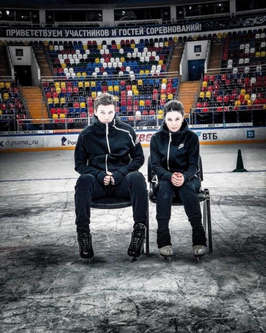 Дмитрий Соловьев и Елена Ильиных