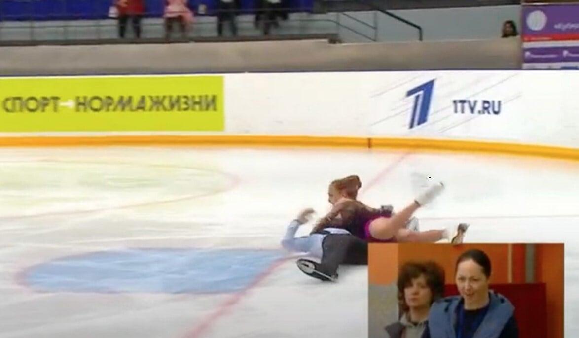 Максим Серов получил травму во время ритм-танца на Кубке России